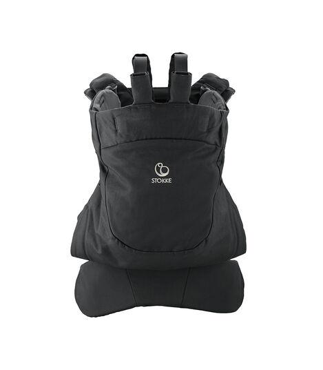 Stokke® MyCarrier™ front- og ryggbærestykke Black, Black, mainview view 2