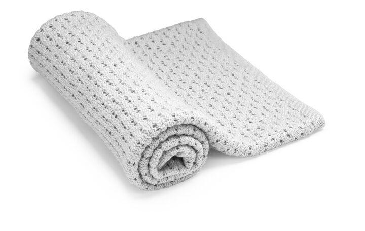 Stokke® Textiles Merino Wool, Light Grey.