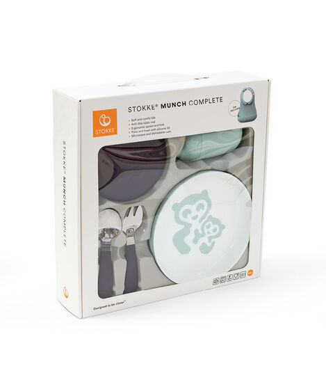 Stokke® Munch Complete Soft Mint, Soft Mint, mainview view 5