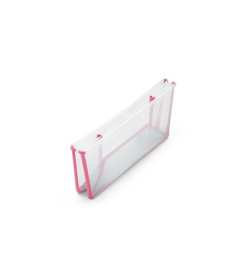 Stokke® Flexi Bath® bath tub, Transparent Pink. Folded. view 3