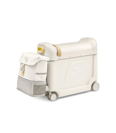 Zestaw podróżny BedBox™ + plecak Crew BackPack™ Biały/Biały, White / White, mainview view 3