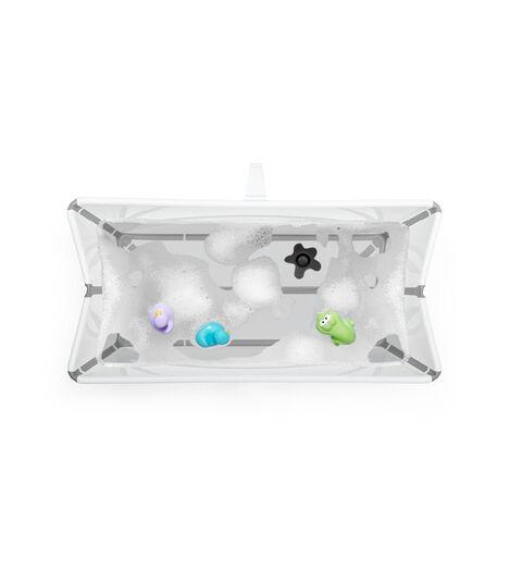 Stokke® Flexi Bath® bath tub, White. Open. view 4
