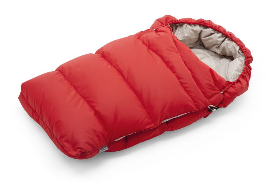 Stokke® Down Sleepingbag, Red.