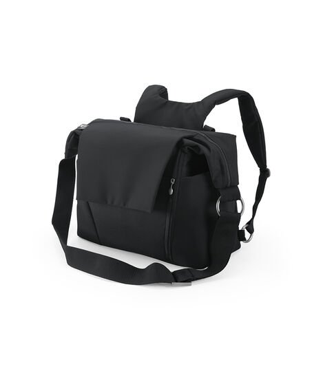 Stokke® Changing Bag Black, Black, mainview view 3