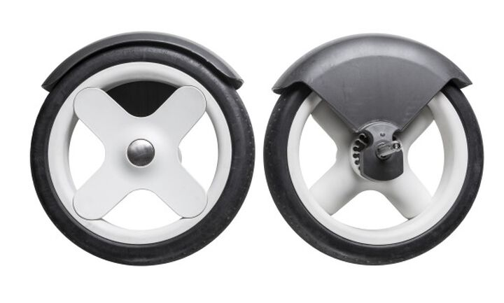Stokke® Trailz™ Grey Classic bakhjul (2 stk.), , mainview view 1