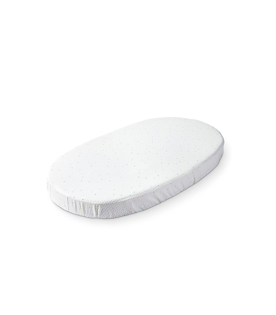 Stokke® Sleepi™ Fitted Sheet by Pehr, Rainbow Dot, mainview view 6