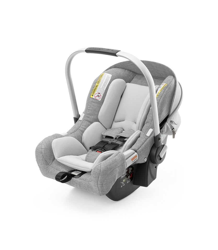 Stokke® PIPA™ By Nuna® car seat, Grey Melange. (USA only).