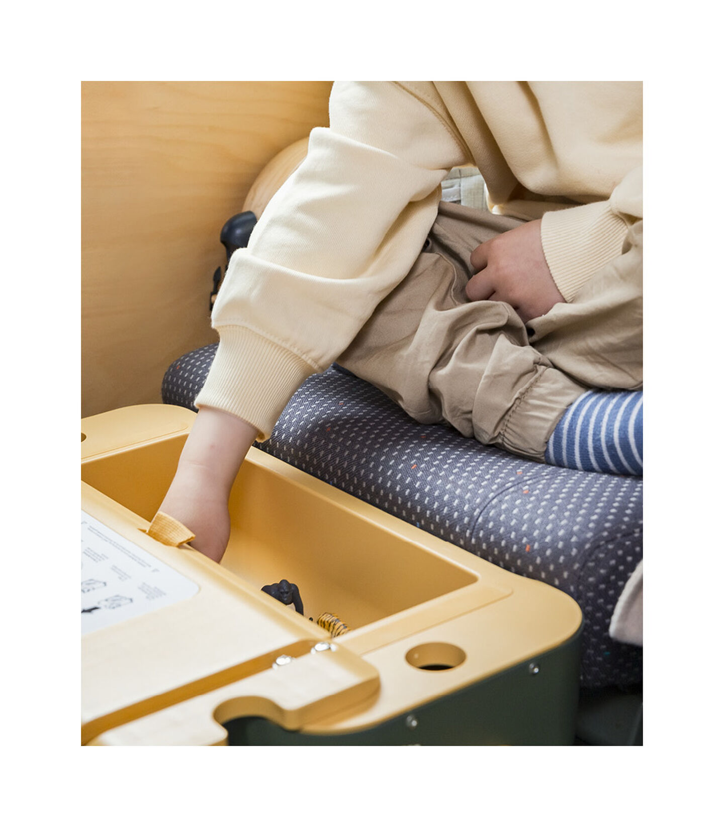 JetKids™ By Stokke® BedBox™ in Golden Olive, Golden Olive, mainview view 7