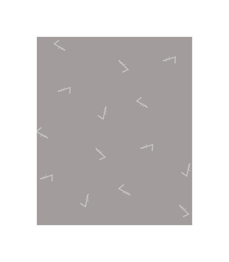 Tripp Trapp® Classic Cushion Icon Grey. Pattern.