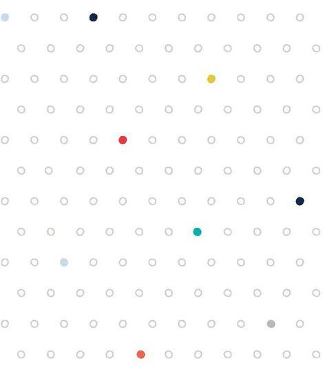 Stokke® Sleepi™ Mini Fitted Sheet Pehr Rainbow Dot, Rainbow Dot, mainview view 2