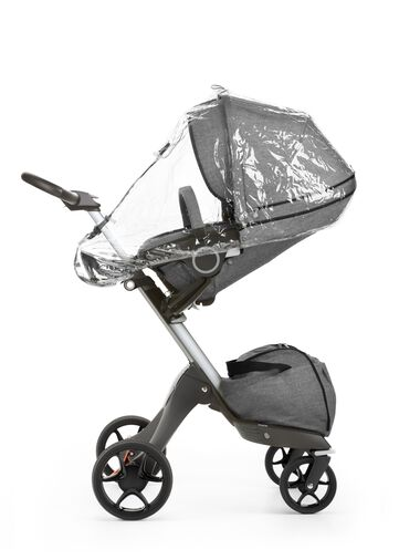 Stokke® Xplory® With Stokke® Stroller Seat and Rain cover. New wheels 2016.