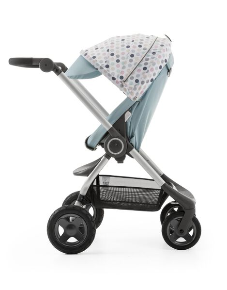 Stokke® Scoot™ Aqua Blue with Style Kit Soft Dots.