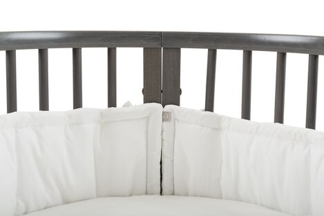 Stokke® Sleepi™ Bed Bumper, White. Detail. view 5