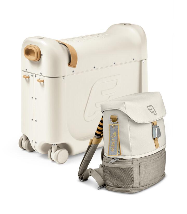 Zestaw podróżny BedBox™ + plecak Crew BackPack™, White / White, mainview view 1