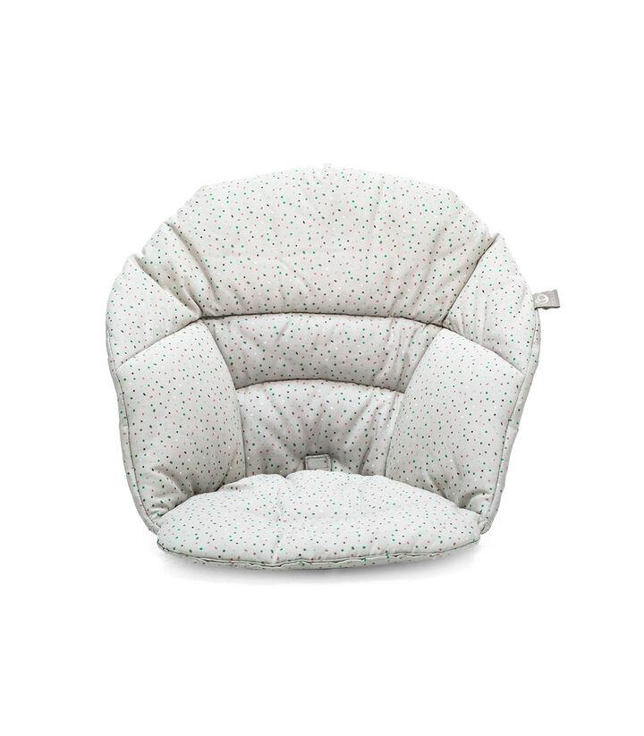 Stokke® Clikk™ Cushion Soft Grey Sprinkles, Grey Sprinkles, mainview