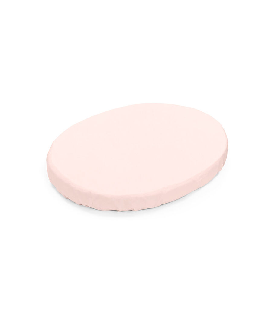 Stokke® Sleepi™ Mini Fitted Sheet. Peachy Pink. view 8