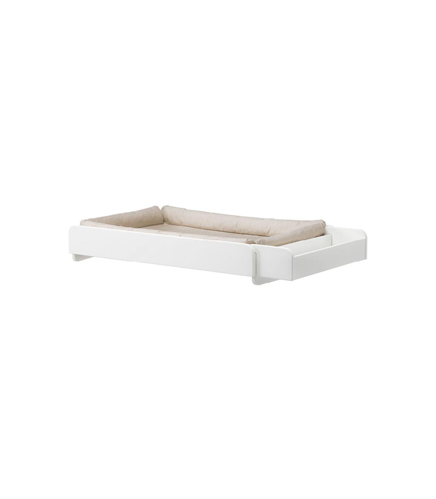 Stokke® Home™ Stelletopp hvit med madrass, White, mainview