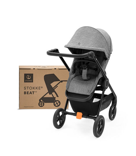 Stokke® Beat™ Black Melange. With Box. view 9