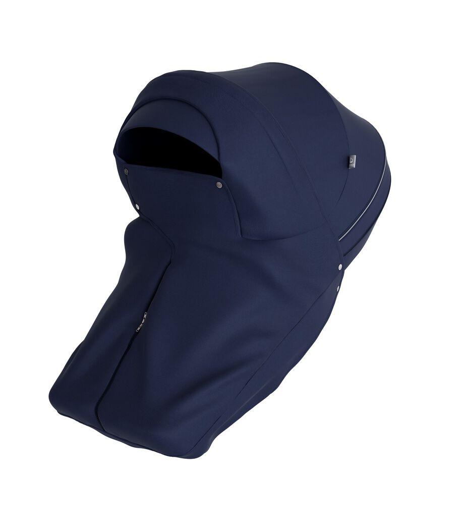 Stokke® Stroller Storm Cover Deep Blue.