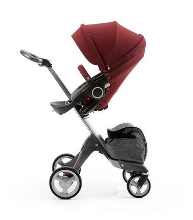 Stokke® Xplory® with Stokke® Stroller Seat Style Kit Burgundy.