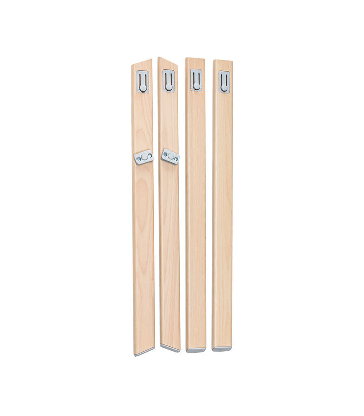 Stokke® Clikk™ High Chair. Natural Beech wood legs. Spare part. view 1