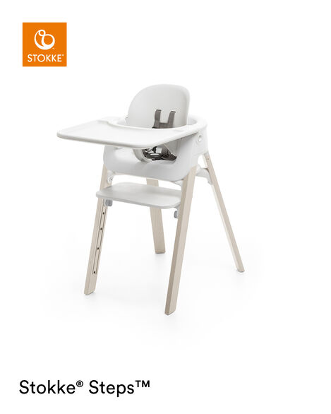 Accessories. Tray, Baby Set. Mounted on Stokke Steps highchair. view 5