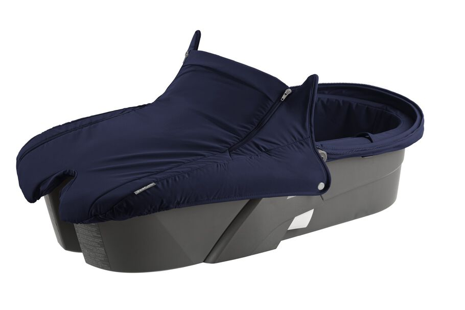 Carry Cot without Hood, Deep Blue.
