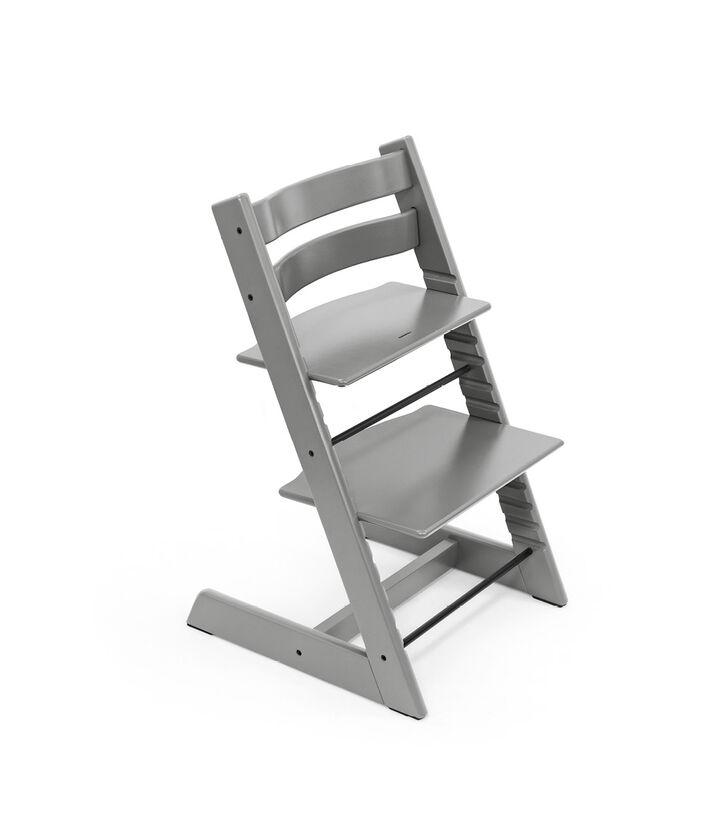 Tripp Trapp® chair Storm Grey, Beech Wood. view 1