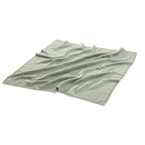 Stokke® Blanket Merino Wool Green, Green, mainview view 3