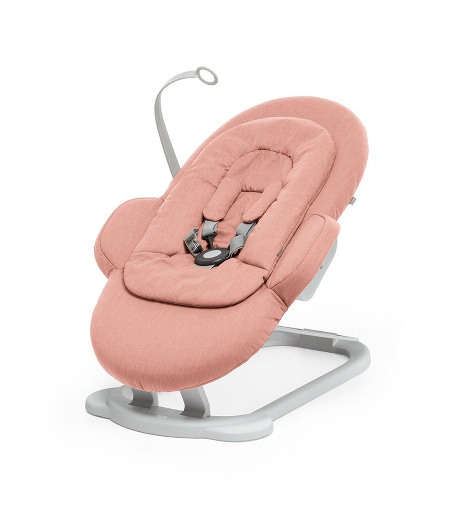 Stokke® Steps Bouncer in Soft Coral. view 32