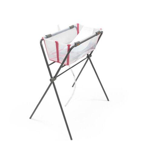 Stokke® Flexi Bath® Stand with Stokke® Flexi Bath bath tub and Newborn Support. view 4
