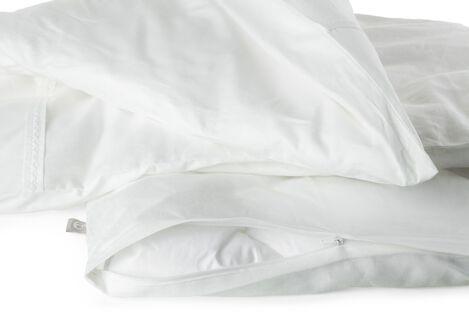 Stokke® Textiles. Bedlinen White. Detail.