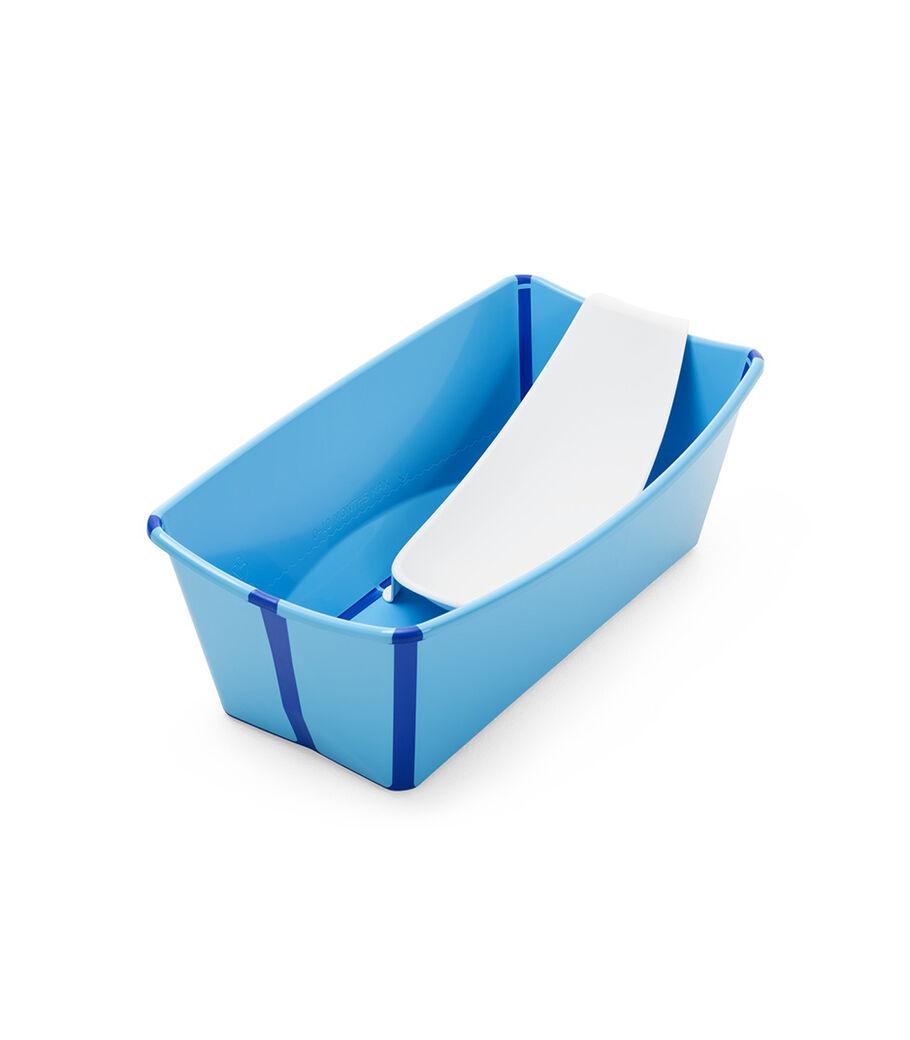Bath tub, Blue.