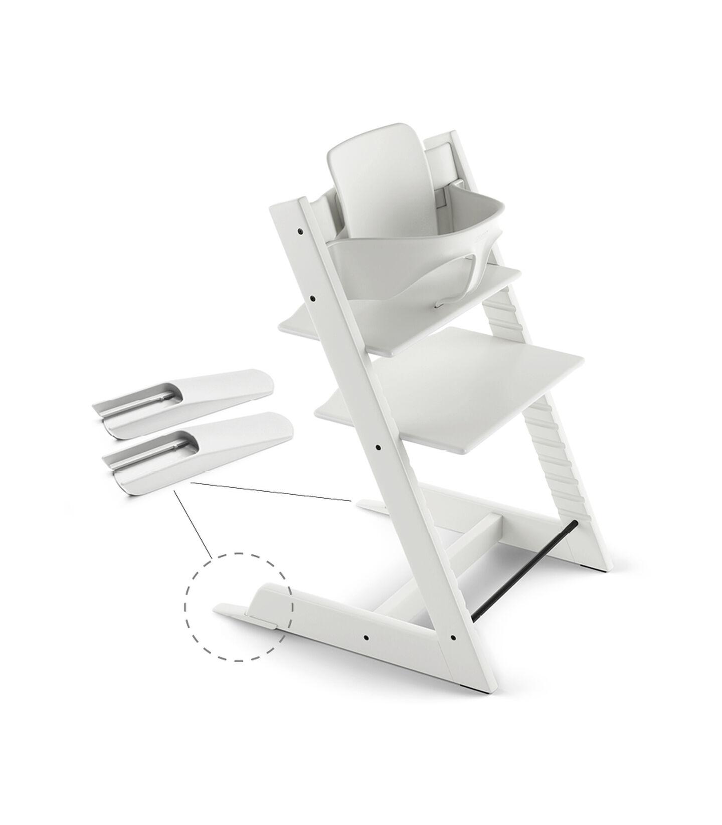 Tripp Trapp® Baby Set White, White, mainview view 2