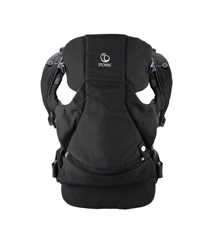 Porte-bébé ventral et dorsal Stokke® MyCarrier™ Black, Noir, mainview view 1