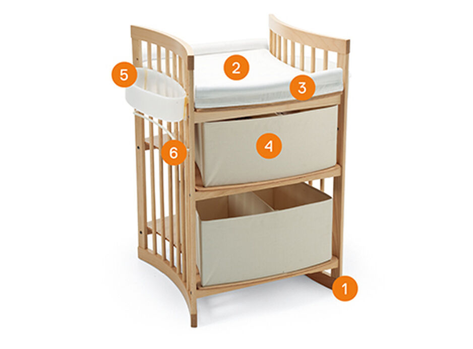Stokke® Care™, USA version. Items included.