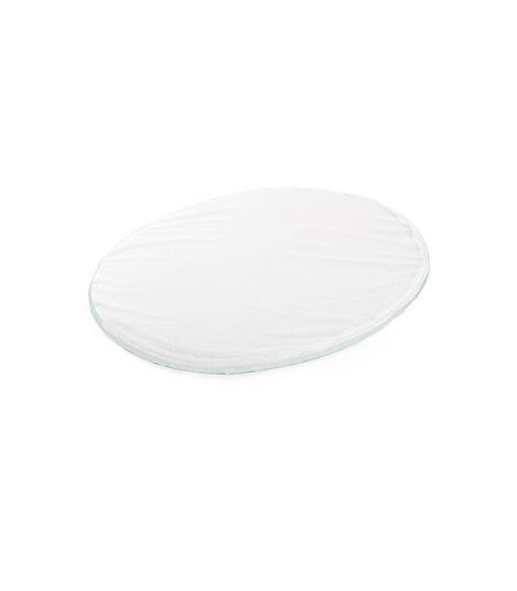 Stokke® Sleepi™ Mini Fitted Sheet Powder Blue, Powder Blue, mainview view 2