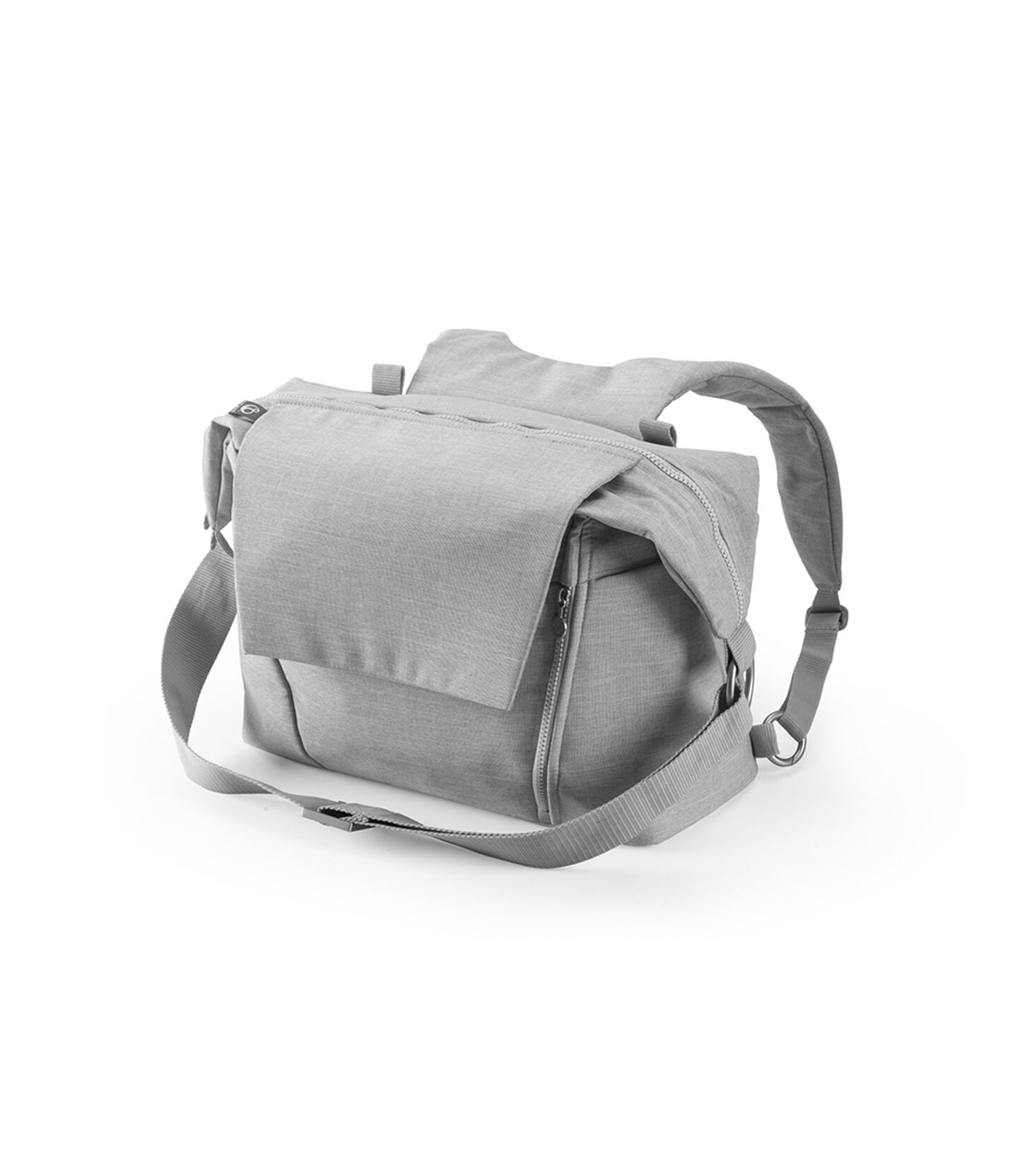 Stokke® Stroller Changing Bag, Grey Melange.