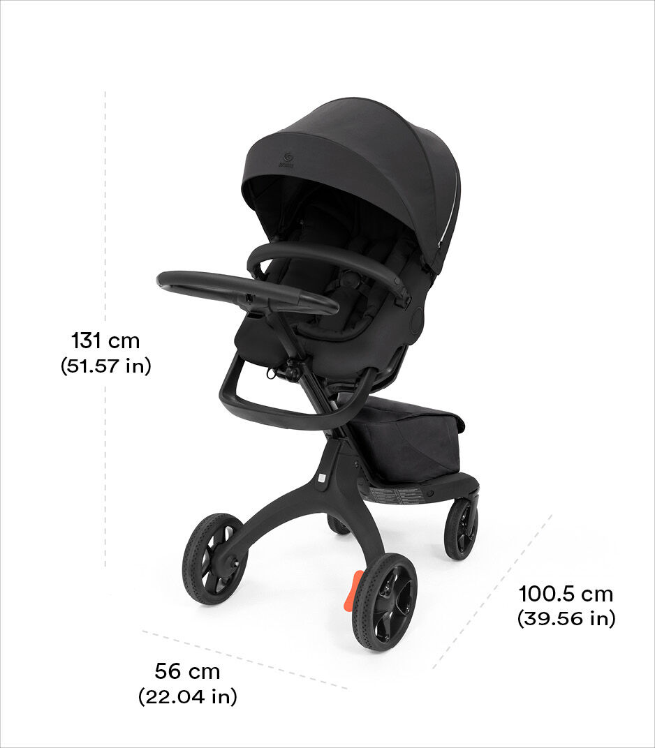 Stokke® Xplory® X Rich Black view 1