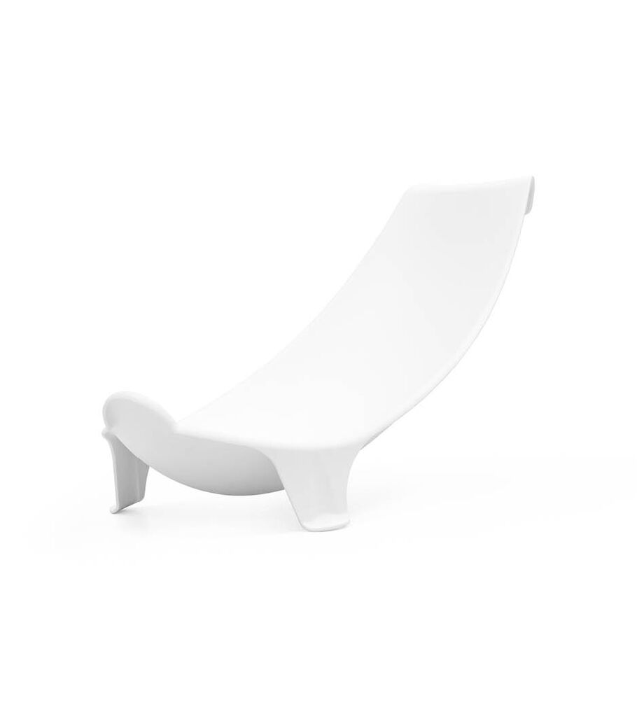 Stokke® Flexi Bath® Newborn Support. Front  view, angeled.