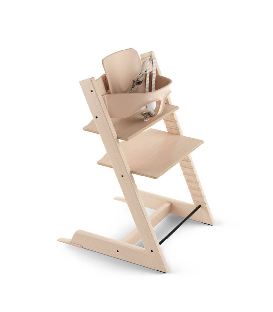 Red Stokke Tripp Trapp Baby Set with Harness /& Extended Gliders