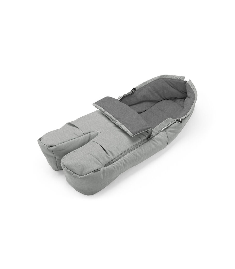 Stokke® Foot Muff, Grey Melange.