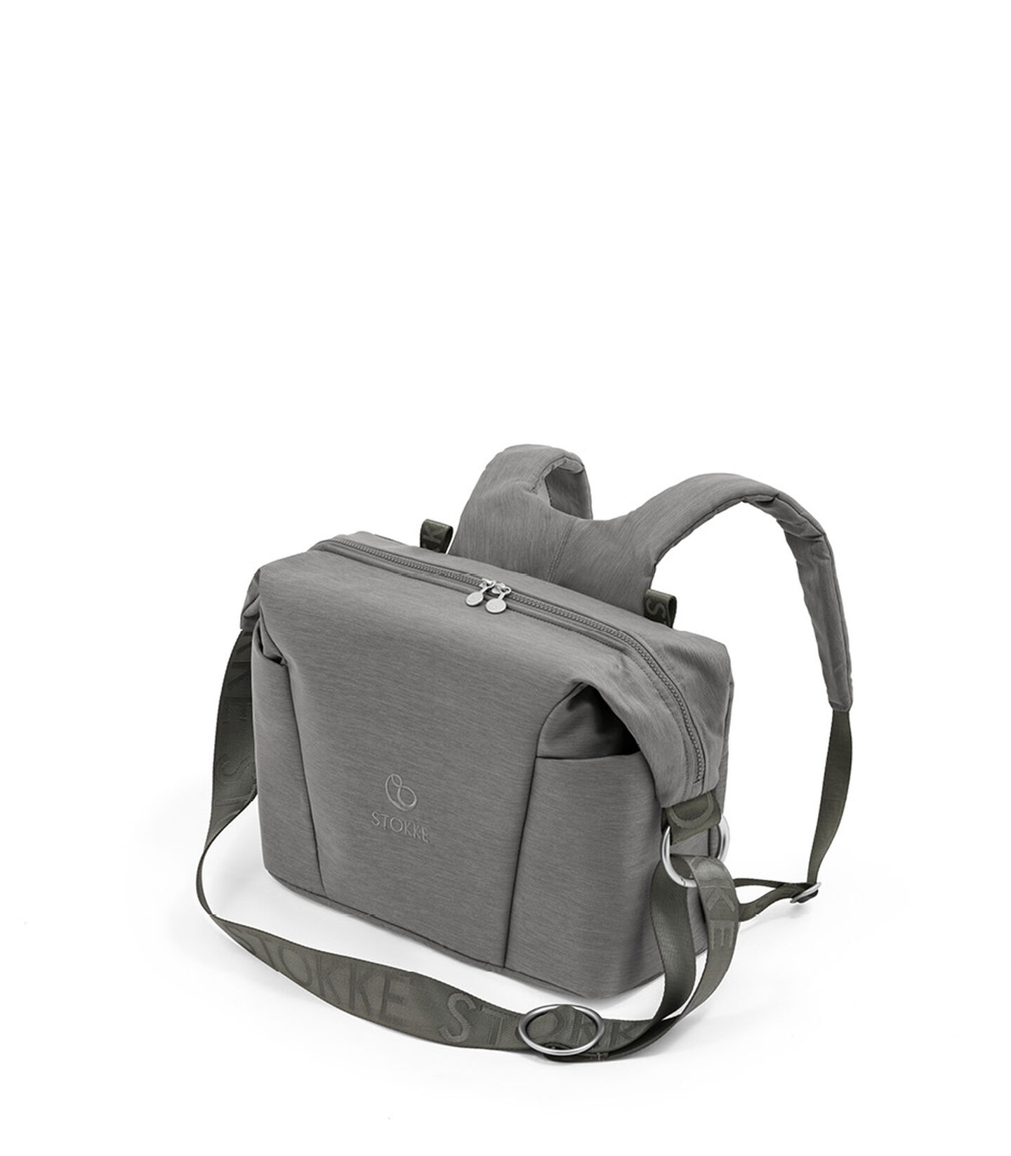 Stokke® Xplory® X Wickeltasche Modern Grey, Modern Grey, mainview view 1