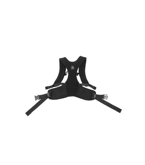 Porte-bébé ventral et dorsal Stokke® MyCarrier™ Black Mesh, Maille noire, mainview view 5