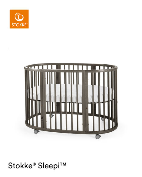 Stokke® Sleepi™ Extension Bed Hazy Grey, Grigio Opaco, mainview view 8