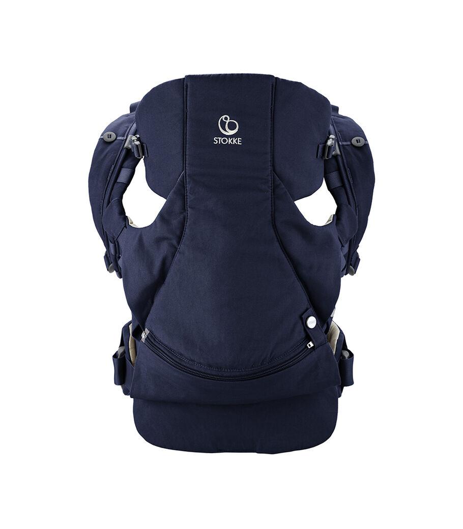 Эрго-рюкзак Stokke® MyCarrier™ Front для ношения на груди, Темно-синий, mainview view 2