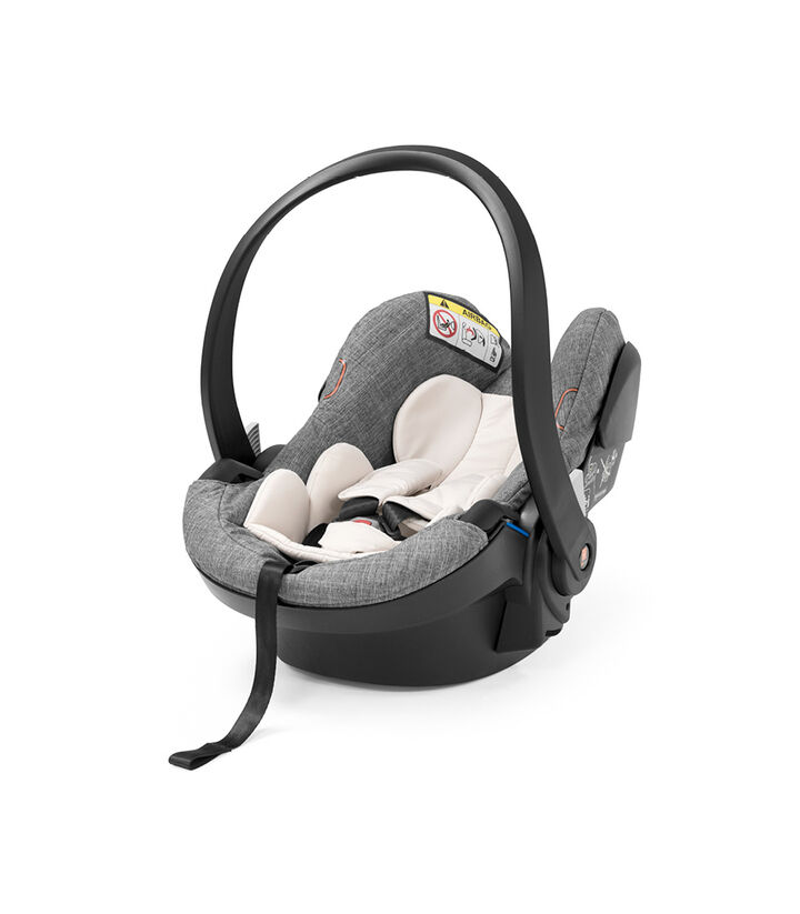 Stokke® iZi Go Modular™ X1 by BeSafe®, Black Melange, mainview view 1