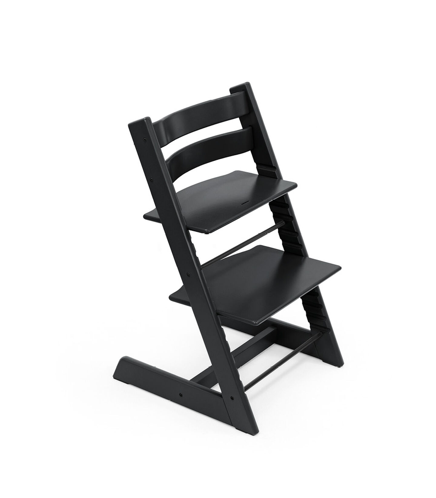 Tripp Trapp® chair Black, Beech Wood. view 2