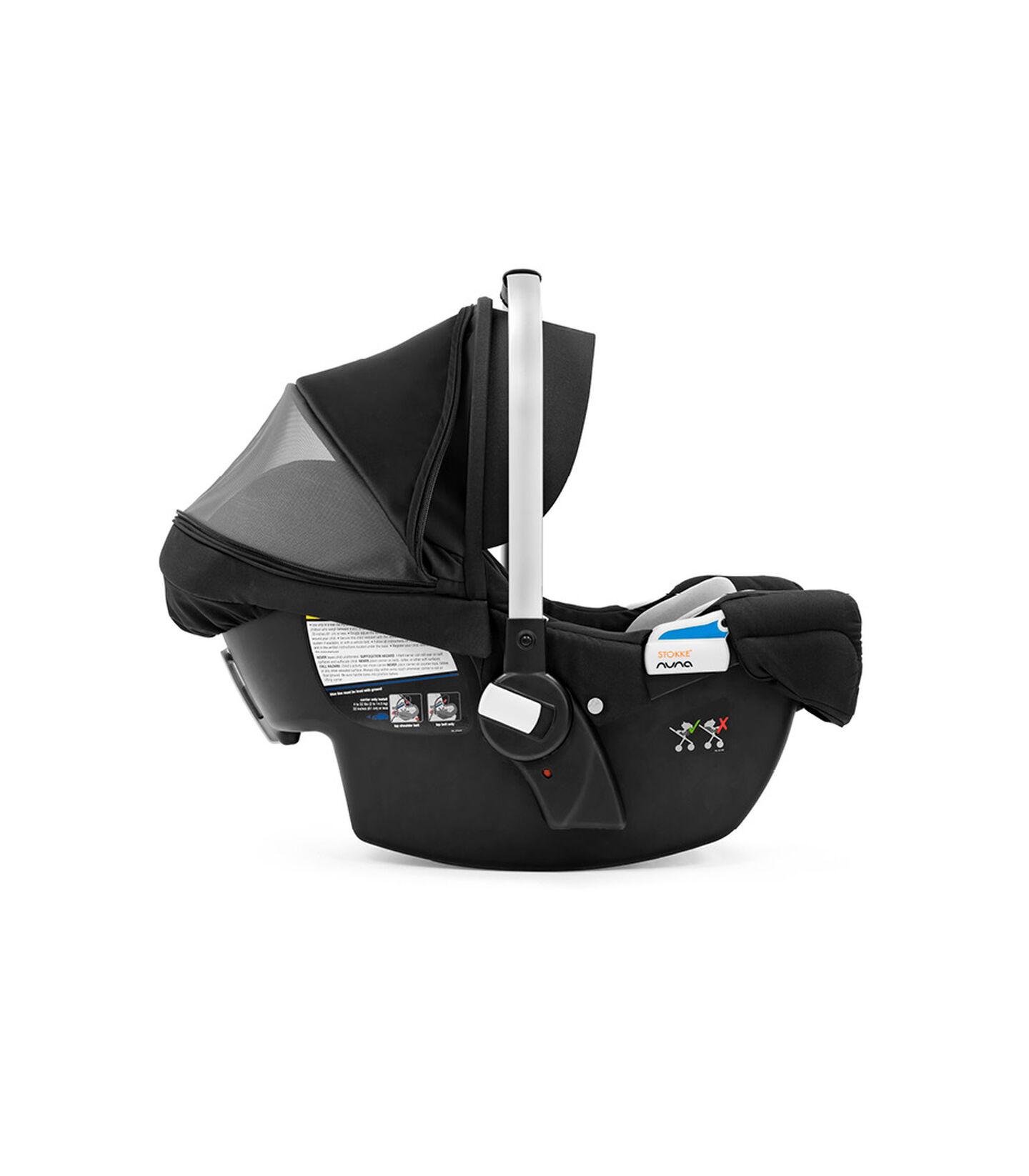 Stokke® PIPA™ by Nuna® Black Car Seat Black, Black, mainview view 1