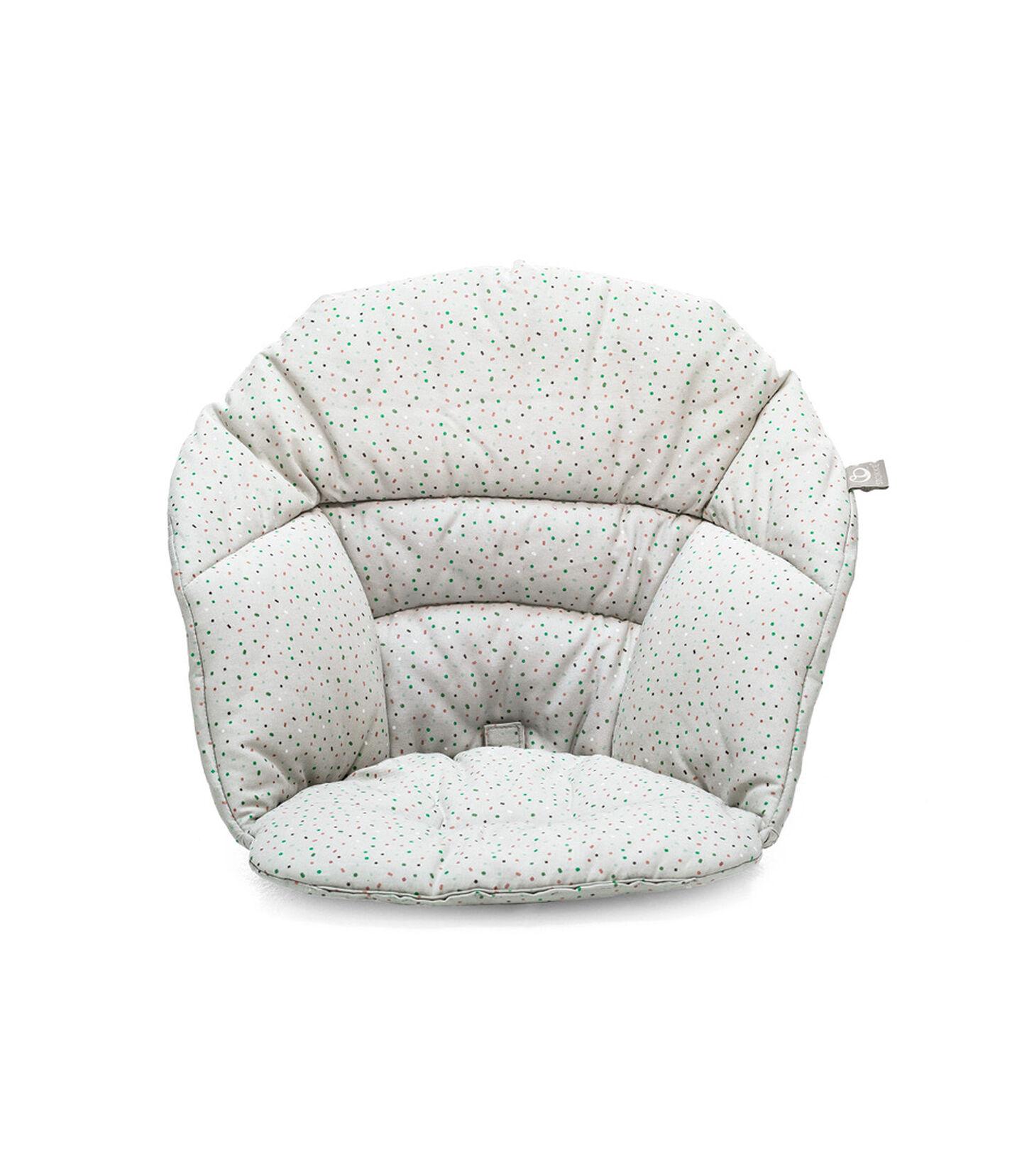 Stokke® Clikk™ Cushion Soft Grey Sprinkles, Grey Sprinkles, mainview view 2